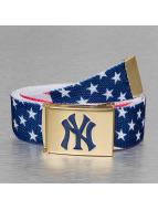 MLB Belt NY Flag blue