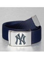 MLB Ceinture Baseball NY Yankees Woven Single bleu