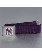 MLB Ceinture MLB NY Yankees Premium Woven Single pourpre