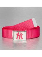 MLB Gürtel MLB NY Yankees Premium Woven pink