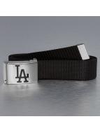 MLB Gürtel LA Dodgers Woven schwarz