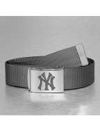 MLB Vyöt MLB NY Yankees Premium Woven harmaa