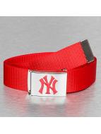 MLB Vyöt MLB NY Yankees Premium Woven punainen