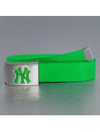 MLB Vyöt MLB NY Yankees Premium Woven vihreä