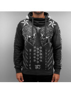Monkey Business Hoodie Skully grey