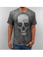 Monkey Business T-Shirt Snake Skull black