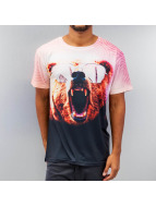 Monkey Business T-Shirt Bear Glasses colored