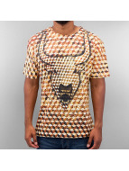 Monkey Business t-shirt Bull Cube goud