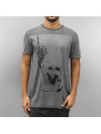 Monkey Business T-Shirt Finger Skull grey