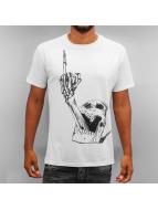 Monkey Business T-shirtar Skull Finger vit