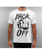 Monkey Business T-skjorter Back off hvit