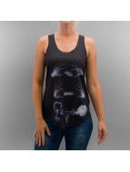 Monkey Business Tank Tops X-Ray Smoke èierna
