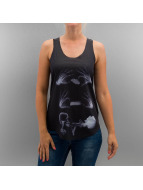 Monkey Business Tanktop X-Ray Smoke zwart