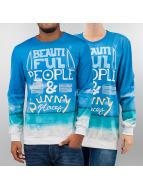 Mr. Gugu & Miss Go Pullover Sunny blau