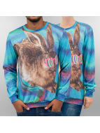 Mr. Gugu & Miss Go Pullover Crazy Rabbit multicolore