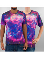 Mr. Gugu & Miss Go t-shirt Fireworks paars