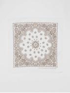 MSTRDS bandana Printed wit