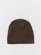MSTRDS Beanie Stonewashed Jersey braun