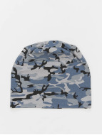 MSTRDS Printed Jersey Beanie Grey Camo/Charcoal