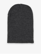 MSTRDS Beanie Basic Flap Long grigio