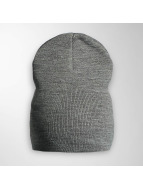 MSTRDS Beanie Basic Flap grigio