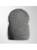 MSTRDS Beanie Basic Flap gris