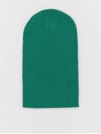 MSTRDS Beanie Basic Flap Long groen