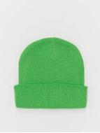 MSTRDS Beanie Basic Flap grün