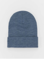 MSTRDS Beanie Basic Flap Long indaco