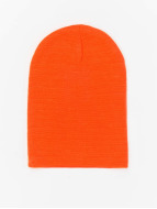 MSTRDS Beanie Basic Flap orange