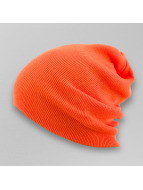 MSTRDS Beanie Basic Flap Long oranje