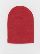 MSTRDS Beanie Basic Flap red