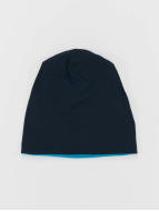 MSTRDS Beanie Jersey Reversible turquoise