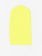 MSTRDS Beanie Basic Flap Long yellow