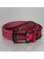 MSTRDS Ceinture Silicone Stud rouge