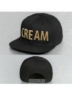 Cream Keyword Snapback C...