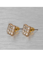 MSTRDS Earring Flat gold colored