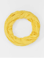 MSTRDS Echarpe Wrinkle Loop jaune