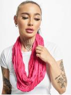 MSTRDS Echarpe Wrinkle Loop magenta