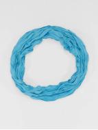 MSTRDS Echarpe Wrinkle Loop turquoise