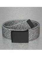 MSTRDS Gürtel Printed Woven grau