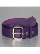 MSTRDS Gürtel Pin Buckle Belt violet