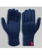 MSTRDS Handschuhe Knitted blau