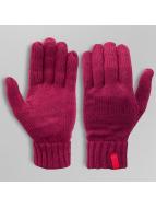 MSTRDS Handschuhe Knitted rot