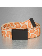 MSTRDS riem Printed Woven beige
