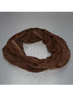 MSTRDS Scarve / Shawl Dobby Loop brown