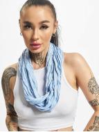 MSTRDS Schal Wrinkle Loop blau