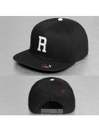 MSTRDS snapback cap R Letter zwart