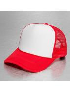 MSTRDS Trucker Caps High Profile Baseball czerwony