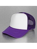 MSTRDS Verkkolippikset High Profile Baseball Trucker purpuranpunainen